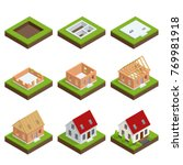 isometric set stage by stage... | Shutterstock .eps vector #769981918