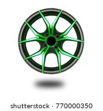 alloy wheels on white | Shutterstock . vector #770000350