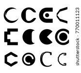 letter c vector logo | Shutterstock .eps vector #770011123