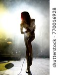 barcelona   oct 20  starcrawler ...   Shutterstock . vector #770016928