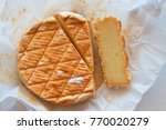 australian washed rind cheese...   Shutterstock . vector #770020279