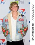 Small photo of LOS ANGELES - DEC 2: Logan Paul at the Jingle Ball 2017 at the Forum on December 2, 2017 in Inglewood, CA