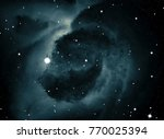 deep space star field. universe ... | Shutterstock . vector #770025394