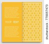 card  invitation  cover... | Shutterstock .eps vector #770057473