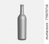 bottle mock up used for product ... | Shutterstock .eps vector #770070718