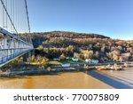 mid hudson bridge crossing the...   Shutterstock . vector #770075809