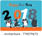 vector illustration of cute... | Shutterstock .eps vector #770079673