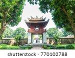 hanoi vietnam   november 1 2017 ...   Shutterstock . vector #770102788