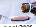 hand pouring medication or...   Shutterstock . vector #770106040