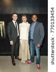 "Small photo of Evan Peters, Melanie Griffith, Hakeem Shady attend LA Premiere of ""The Pirates Of Somalia"" at Grauman's Chinese Theatre,Los Angeles, California on December 6 2017"