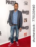 "Small photo of Hakeem Shady attends LA Premiere of ""The Pirates Of Somalia"" at Grauman's Chinese Theatre,Los Angeles, California on December 6 2017"