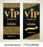 illustration design invitations ... | Shutterstock .eps vector #770139838