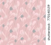 abstract floral seamless... | Shutterstock .eps vector #770140159