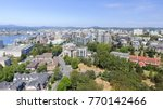 aerial view of victoria skyline ... | Shutterstock . vector #770142466