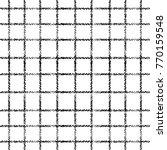 Striped Check Grunge Seamless...