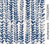 indigo vector tie dye seamless... | Shutterstock .eps vector #770163394