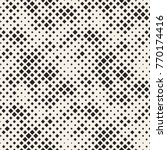 modern stylish halftone texture.... | Shutterstock .eps vector #770174416