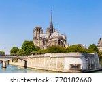 notre dame de paris catholic... | Shutterstock . vector #770182660