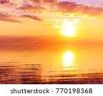 rising panorama horizon  | Shutterstock . vector #770198368