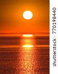 sun grandeur wallpaper  | Shutterstock . vector #770198440