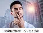interesting idea. professional...   Shutterstock . vector #770215750