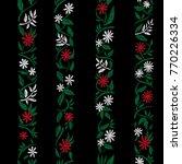 traditional folk flower...   Shutterstock .eps vector #770226334