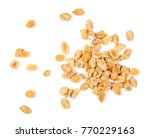 pile salted and marinated... | Shutterstock . vector #770229163