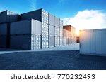 harbor freight blue toned... | Shutterstock . vector #770232493