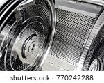 washing machine stainless tank...   Shutterstock . vector #770242288