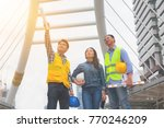 working engineer. they are see...   Shutterstock . vector #770246209