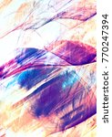 abstract color background with... | Shutterstock . vector #770247394