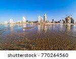 tel aviv beach coast with a... | Shutterstock . vector #770264560
