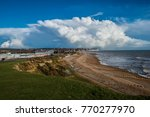 a great storm has passed over... | Shutterstock . vector #770277970