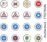 line vector icon set  ...   Shutterstock .eps vector #770278186