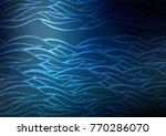 dark blue vector natural... | Shutterstock .eps vector #770286070