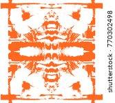 modern monochrome floral...   Shutterstock . vector #770302498