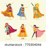 vector illustration in flat...   Shutterstock .eps vector #770304046