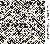 irregular tangled lines.... | Shutterstock .eps vector #770305198