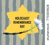 holocaust remembrance day.... | Shutterstock .eps vector #770305828