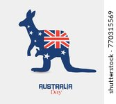australia day  national day of... | Shutterstock .eps vector #770315569