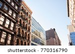 new york city buildings  low... | Shutterstock . vector #770316790