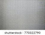 metal background dot pattern - stock photo