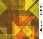 geometric background of... | Shutterstock . vector #770331430