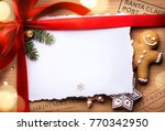 christmas post holidays... | Shutterstock . vector #770342950