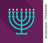menorah 9 candle candelabrum
