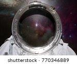 space suit. empty cosmonaut...   Shutterstock . vector #770346889