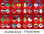 vector illustration of national ... | Shutterstock .eps vector #770357854
