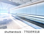 escalator stair way at the... | Shutterstock . vector #770359318