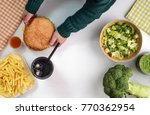 children's choice between... | Shutterstock . vector #770362954