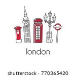 modern vector illustration... | Shutterstock .eps vector #770365420